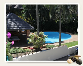 contact details for bed and breakfast accommodation st lucia south africa
